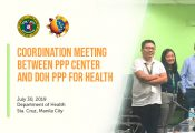 Coordination Meeting between PPP Center and DOH PPP for Health