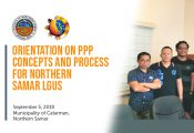 Orientation on PPP Concepts and Process for Northern Samar LGUs