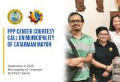 PPP Center Courtesy Call on Municipality of Catarman Mayor