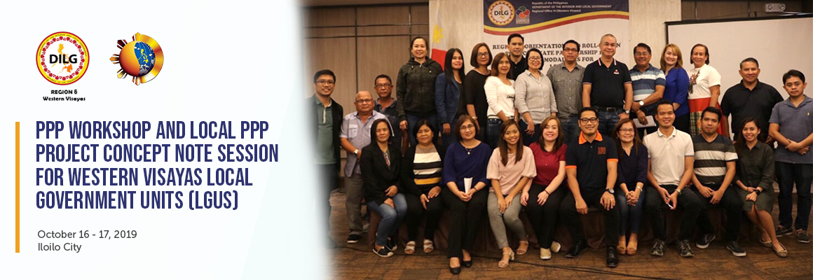 PPP Workshop and PCN Session for Western Visayas LGUs