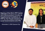 DILG, PPPC sign JMC on Supplemental Guidelines on PPP for the People Initiative for Local Governments (LGU P4)