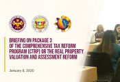 Briefing on Package 3 on Comprehensive Tax Reform
