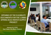 3 prospective bidders for Lumbo Water PPP Project