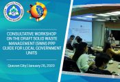 Consultative Workshop on the draft SWM PPP Guide for LGUs