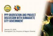 PPP Orientation for City Govt of Dumaguete