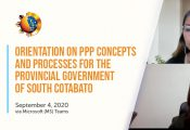 PPP Orientation for South Cotabato Provincial Government