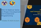 Webinar Series on Project Development and Investment Programming