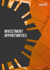 Investment Opportunities Brochure cover