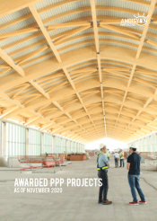 PPP Awarded Projects Brochure Cover page