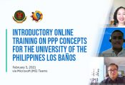 UPLB gets intro to PPPs