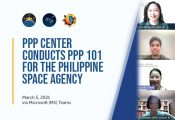 PPP Center conducts PPP 101 for the Philippine Space Agency