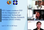 PPP Center conducts PPP 101 for DOST-PNRI Photo release