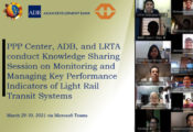 PPPC, ADB, and LRTA Knowledge Sharing Session on Monitoring and Managing Key Performance Indicators of Light Rail Transit Systems