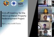Kick-off meeting for the NEDA sa Makati Property Redevelopment Project