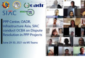 banner for the online capacity building on dispute resolution