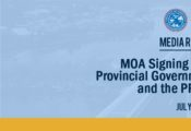 MOA signing between PPPC and Local Government of Sorsogon City