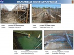 Formworks and catwalk installation and concrete pouring activities in the lower ground slab of the Treated Water Reservoir as of Feb 8 2017
