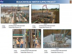 Concrete pouring at lower ground wall activities in the Treated Water Reservoir as of Feb 8 2017