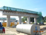 CALAX bridge construction photo
