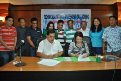 PPPC - Talisay City TAA Signing